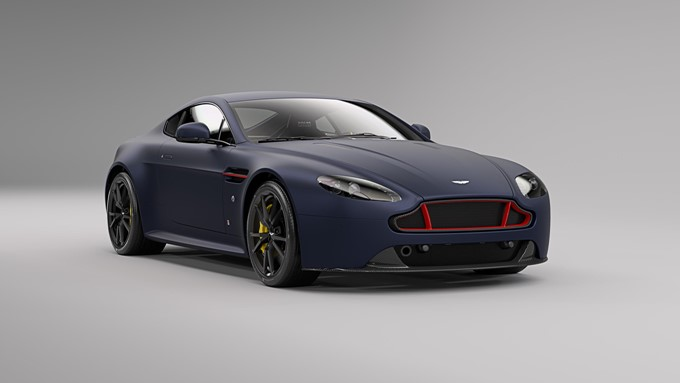 Aston Martin Vantage S Red Bull Racing Edition Images