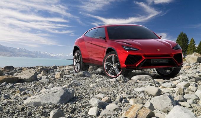 Lamborghini Urus Concept Images