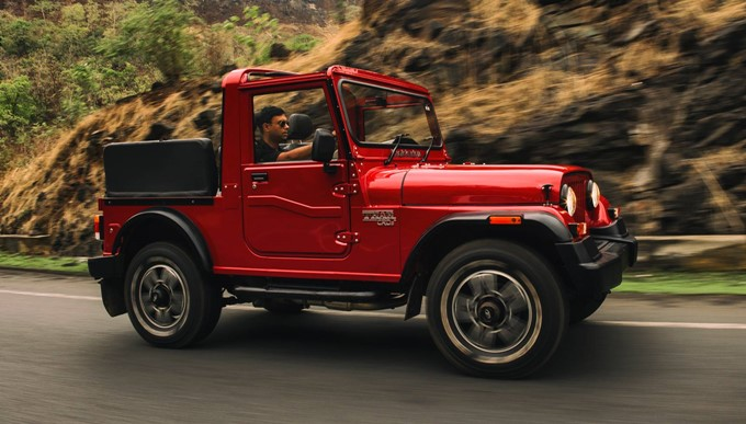 Mahindra Thar Photos
