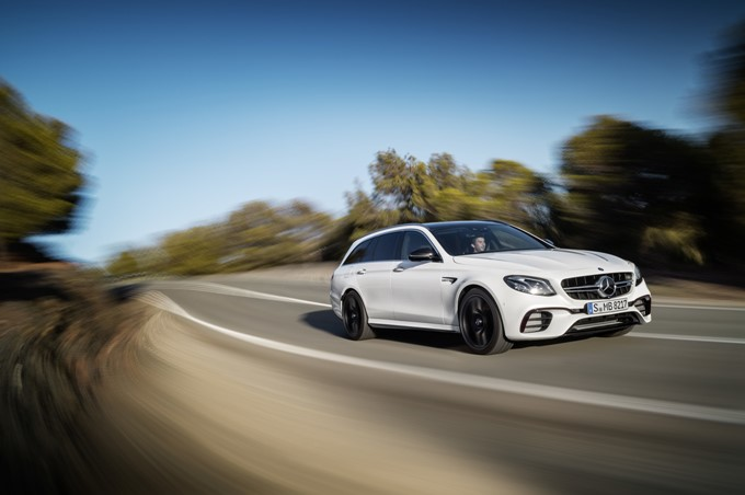 Mercedes-AMG E63 S Estate Photos