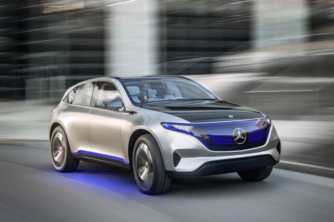 Mercedes-Benz Generation EQ Concept Photos