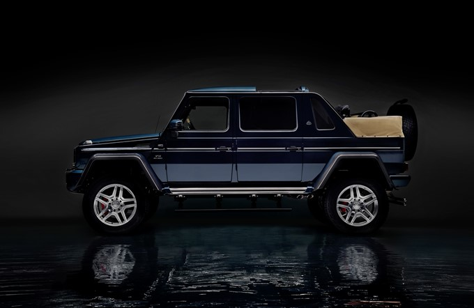 Mercedes-Maybach G 650 Landaulet Photos