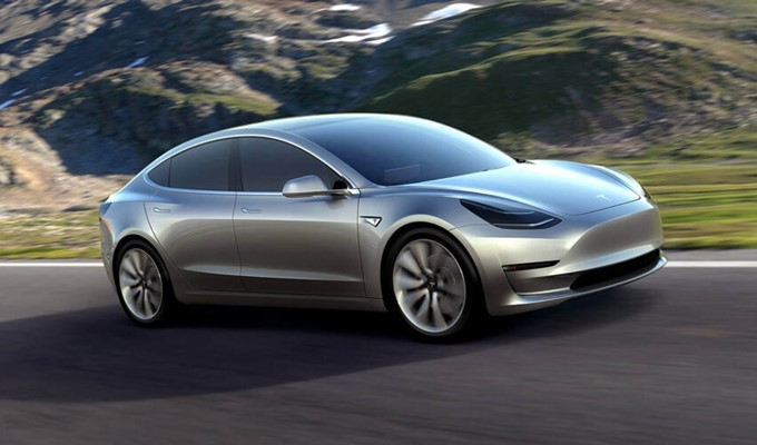 Tesla Model 3 Photos