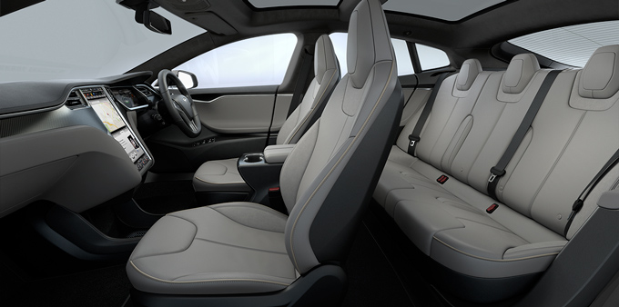 Tesla Model S Images: Interior U0026 Exterior Photos Of Tesla Model S    DriveSpark