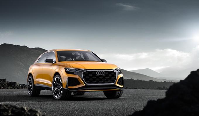 Audi Q8 Sport Concept Images