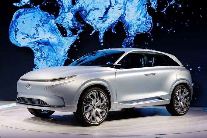 Hyundai FE Fuel Cell Concept Images