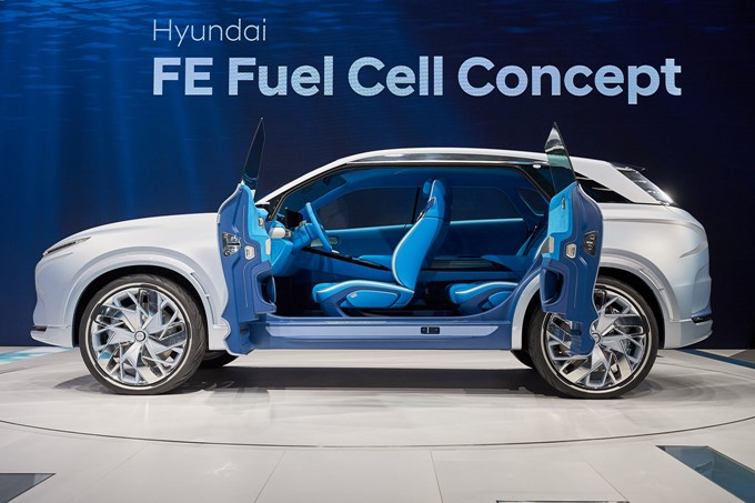 Hyundai FE Fuel Cell Concept Photos
