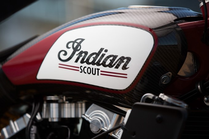 Indian Scout FTR750 Photos