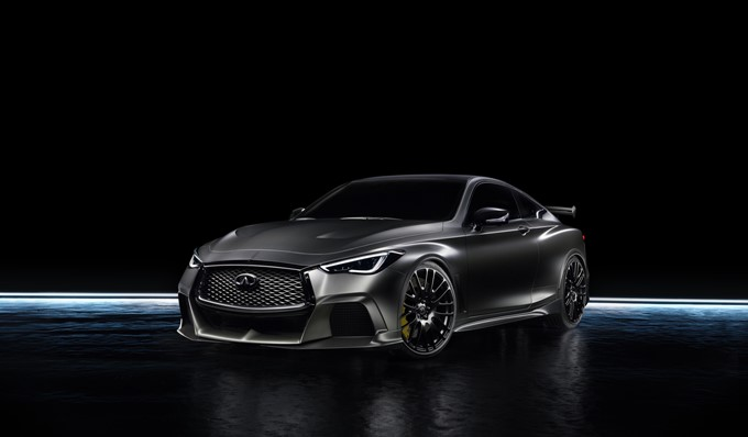 Infiniti Project Black S Concept Photos