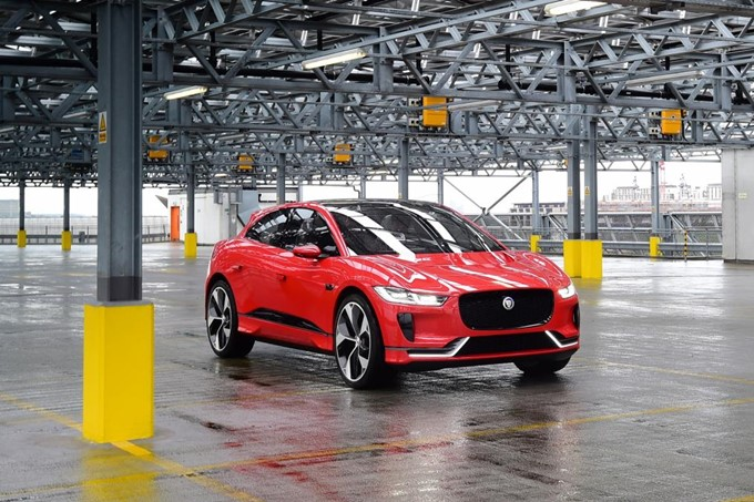 Jaguar I-PACE Concept Photos