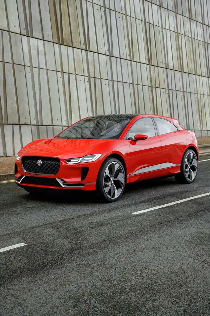 Jaguar I-PACE Concept Images