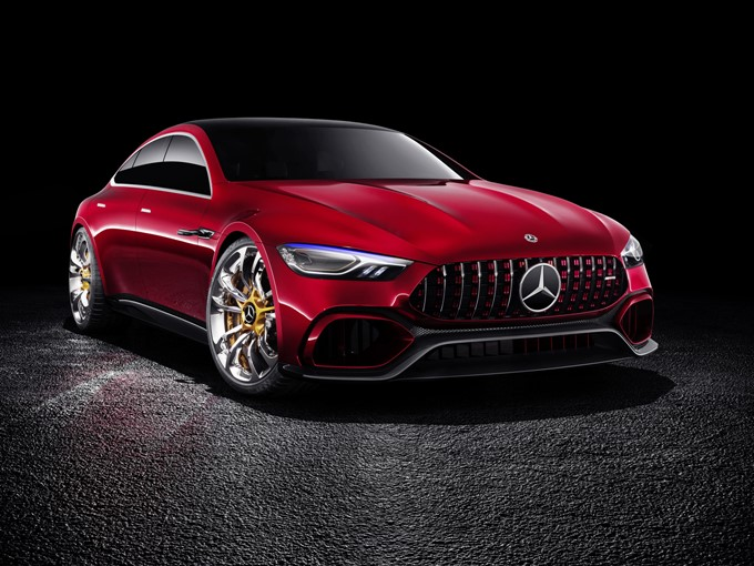 Mercedes-AMG GT Concept Images