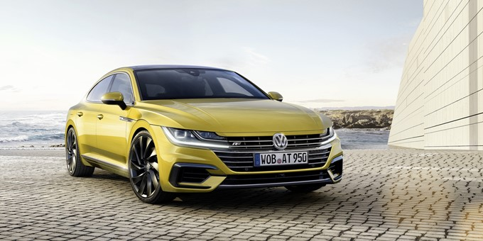Volkswagen Arteon Photos