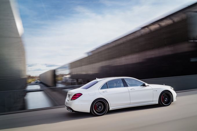 2017 Mercedes-AMG S 63 Photos