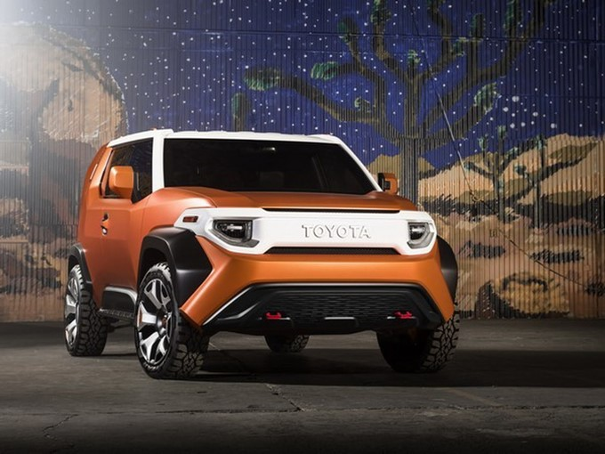 Toyota FT-4X Concept Images