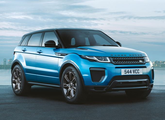 Range Rover Evoque Landmark Special Edition Images