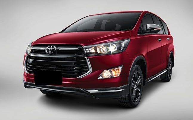 Toyota Innova Crysta Touring Sport Images