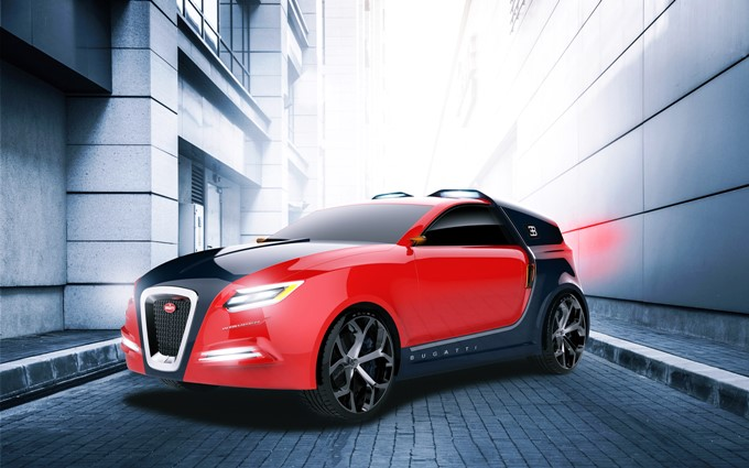 Bugatti Intruder Renderings Images