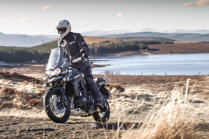2017 Triumph Tiger Explorer Photos