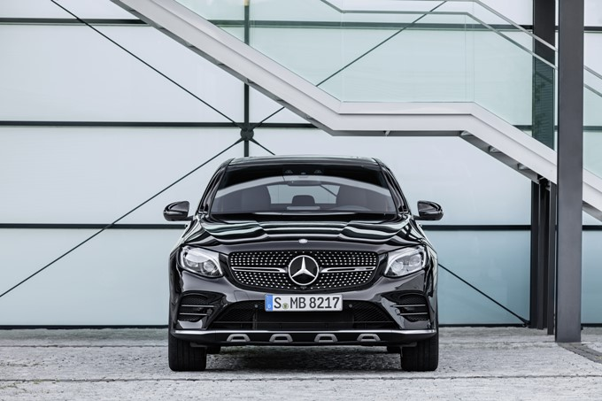 Mercedes-AMG GLC 43 Coupe Photos