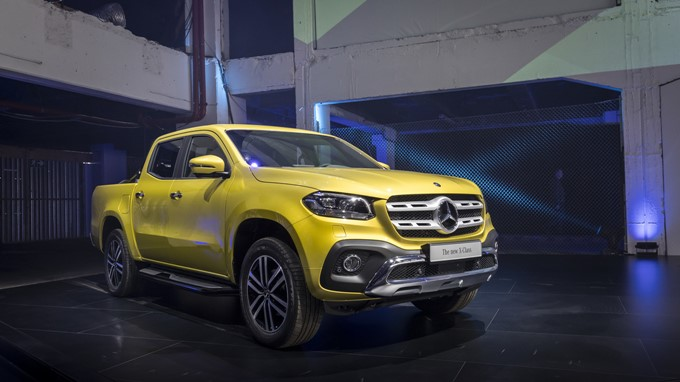 Mercedes-Benz X-Class Photos