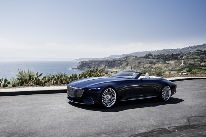 Mercedes-Benz Vision Maybach 6 Cabriolet Concept Photos