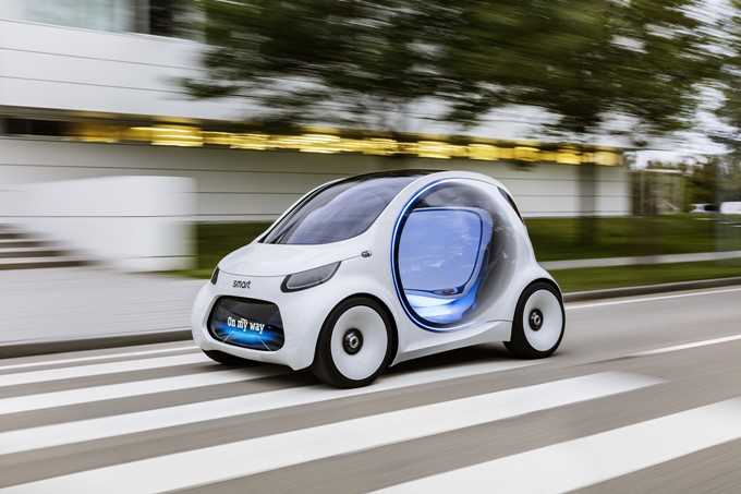 Smart Vision EQ ForTwo Concept Photos