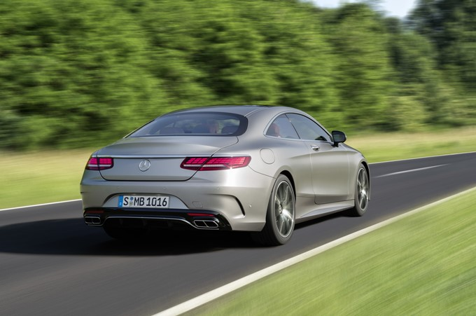 2017 Mercedes-Benz S-Class Coupe Photos