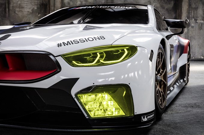 BMW M8 GTE Photos