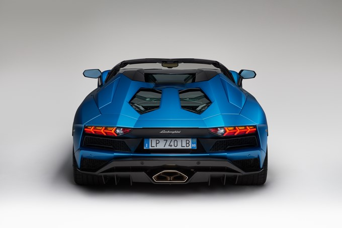 Lamborghini Aventador S Roadster Photos