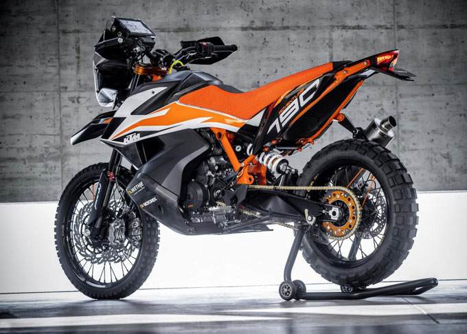 KTM 790 Adventure Protoype Photos