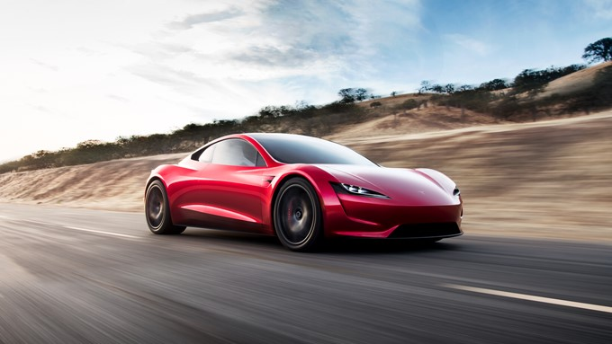 Tesla Roadster Photos