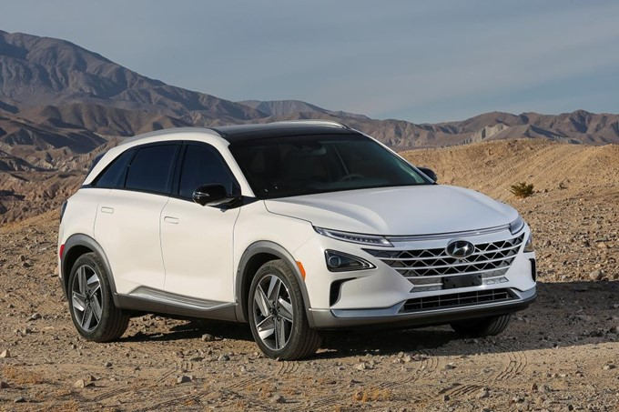 Hyundai Nexo Photos
