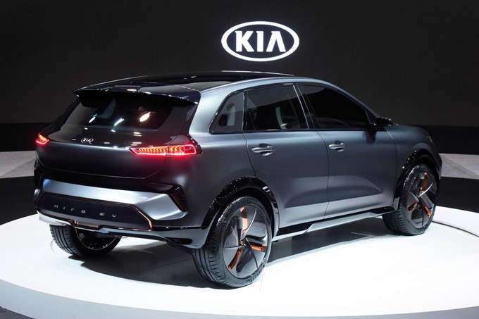 Kia Niro EV Concept Photos