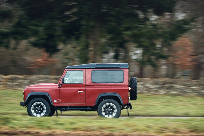Land Rover Defender V8 Anniversary Edition Photos