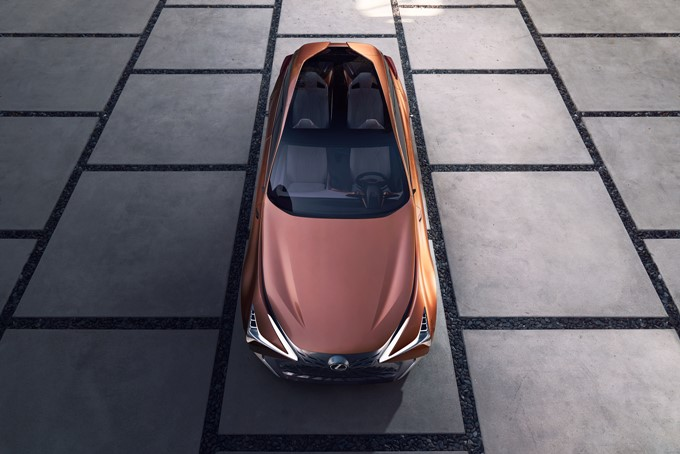 Lexus LF-1 Limitless Photos