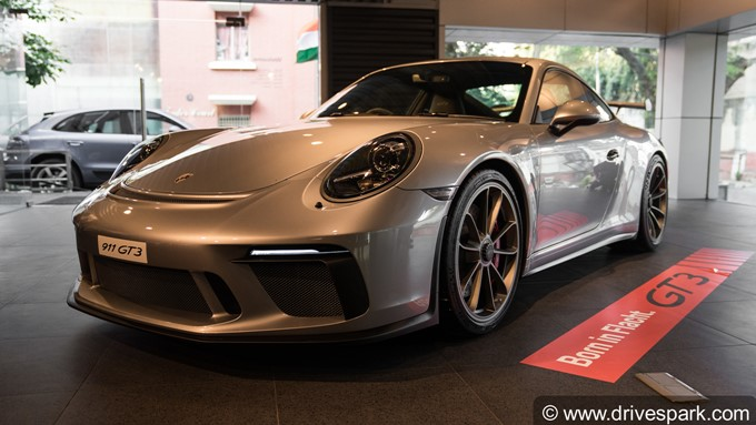 Porsche 911 GT3 In Bangalore Photos