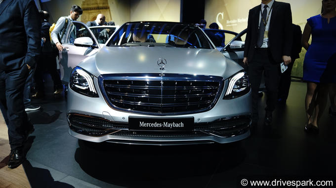 2018 mercedes-maybach s 650 images: interior & exterior photos of