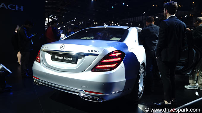 2018 Mercedes-Maybach S 650 Photos
