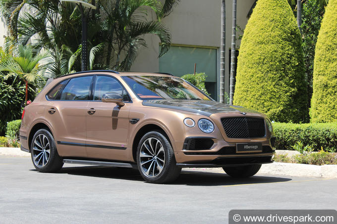 Bentley Bentayga Photos