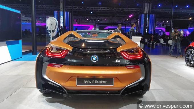I8 Exterior: BMW I8 Roadster Images: Interior & Exterior Photos Of BMW