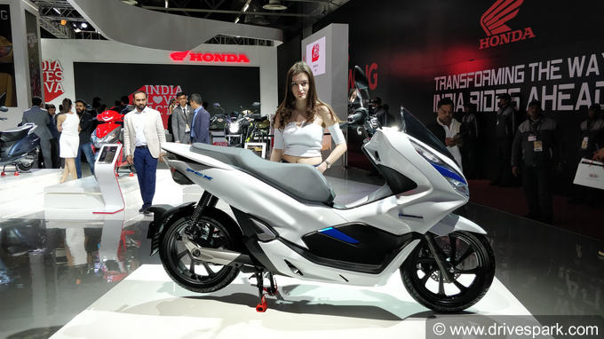 Honda PCX Electric Concept Photos