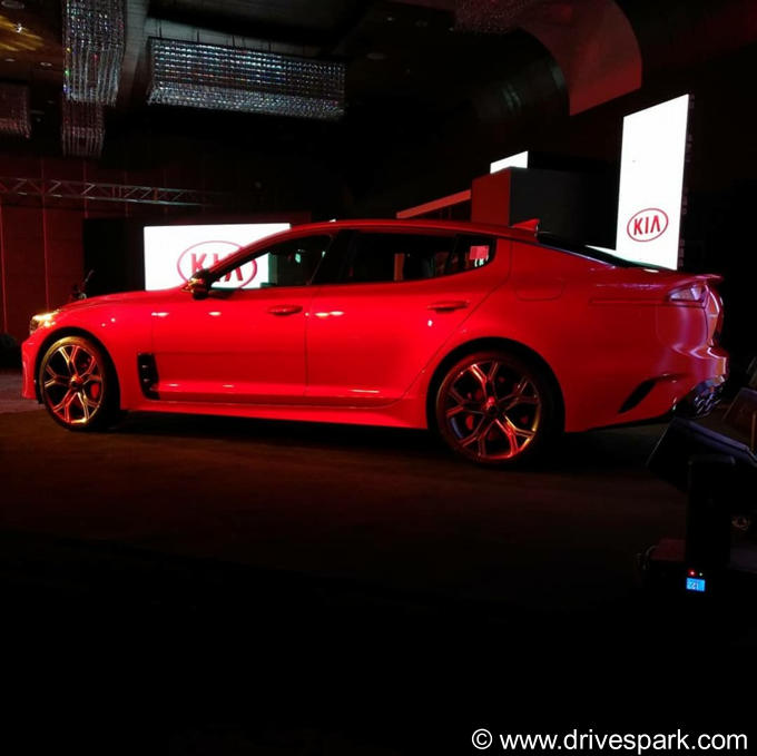 Kia Stinger GT Photos