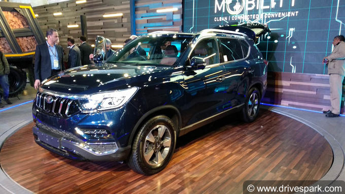 Mahindra G4 Rexton Photos