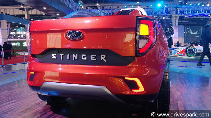 Mahindra TUV Stinger Photos