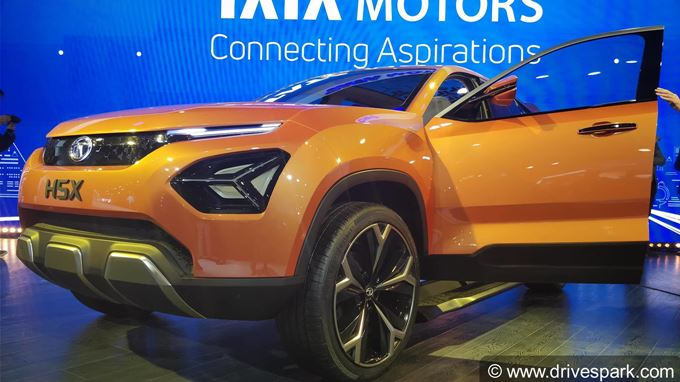 Tata H5X Concept SUV Photos