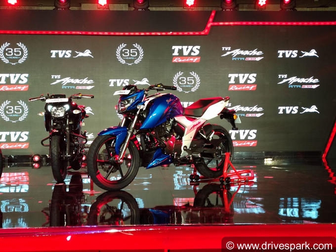 2018 TVS Apache RTR 160 4V Photos