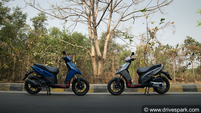 Aprilia SR 125 Test Ride Photos