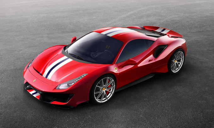 Ferrari 488 Pista Photos