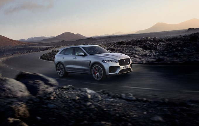 Jaguar F-Pace SVR Photos
